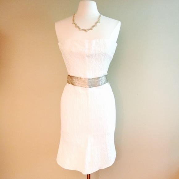 Maticevski Dresses & Skirts - Silk and Metallic beaded Maticevski Dress